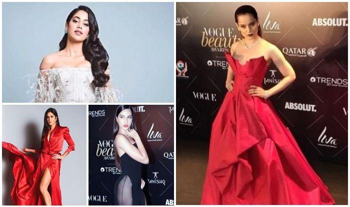Kangana Ranaut, Janhvi Kapoor, Katrina Kaif, Nora Fatehi and More Raise The Temperatures at Vogue Beauty Awards 2018