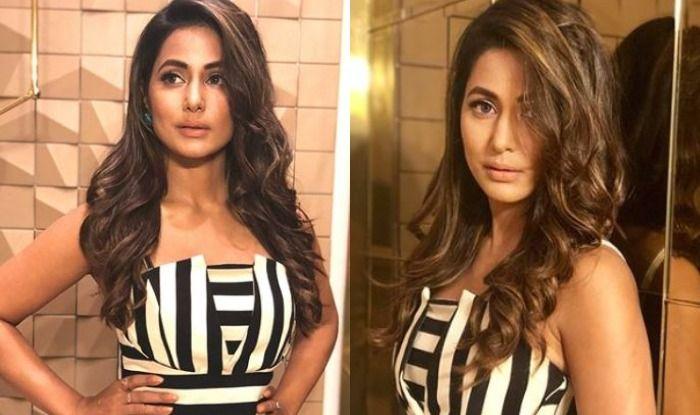 Bigg Boss 11 Finalist Hina Khan, Who is Likely to Play Komolika in Kasautii Zindagii Kay 2, Looks Sexy in This Spaghetti Strap Dress, Check