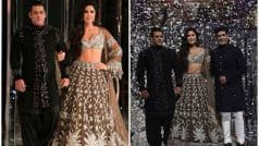 Salman Khan and Katrina Kaif Turn Showstoppers For Manish Malhotra's Couture Show