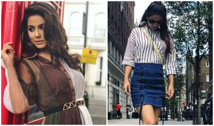 Bigg Boss Fame Hina Khan Shares Sizzling Pictures Once Again, Fans go Crazy