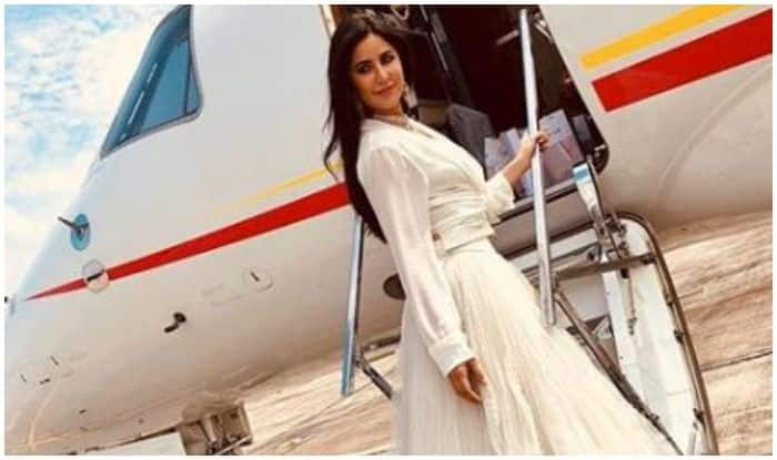 Katrina Kaif Looks Drop Dead Gorgeous in White as She Boards Flight to Ranchi