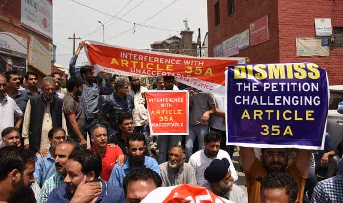 Article 35A: Ahead of SC Hearing, Jammu and Kashmir Braces For Protests, Two-Day Shutdown