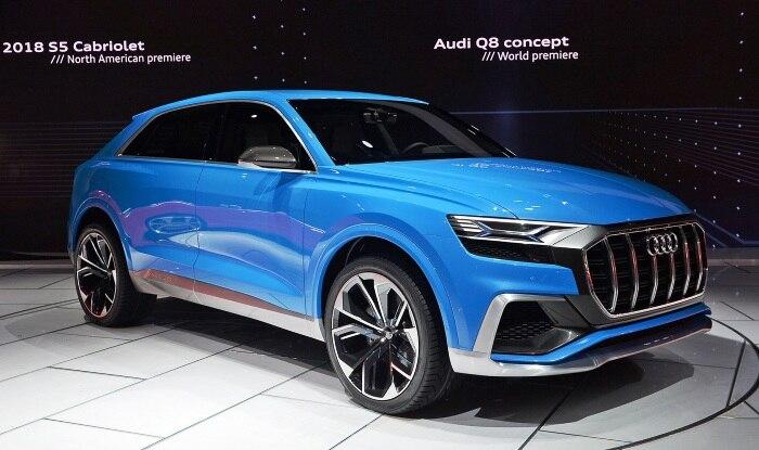 Audi Q8 Concept: Specs, Production Version >> Audi Q8 Concept Showcases In Detroit Production Model To