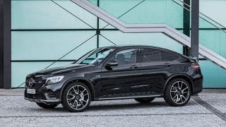Mercedes AMG GLC43 4-MATIC Coupe launching today in India; Launch Live Stream, expected price, features & specs