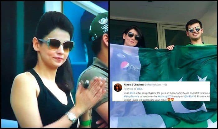 India vs Bangladesh, Asia Cup Final 2018: As Rohit Sharma Takes on Marshrafe Mortaza And Co, Netizen Makes Strange Request to ICC For Pakistan Girl at The Stadium