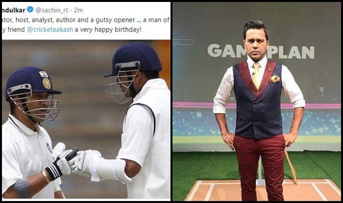 Asia Cup 2018: India vs Pakistan — Sachin Tendulkar Posts Rahul Dravid's Picture While Wishing Happy Birthday to Aakash Chopra — WATCH