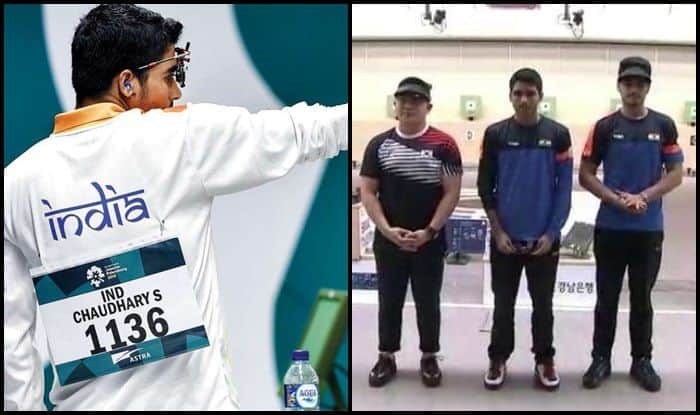 ISSF Junior World Championship: Saurabh Chaudhary Betters Own World Record, Claims Gold at 10m Air Pistol After Asian Games Gold