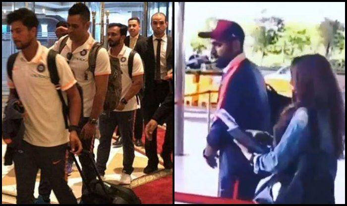 Asia Cup 2018: How MS Dhoni, Rohit Sharma, Ritika Sajdeh, Harrdik Pandya And Team India Received Grand Welcome in UAE — SEE PICS & VIDEOS