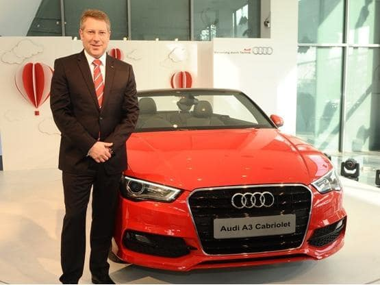 Audi A3 Cabriolet Launched In Coimbatore Audi Launches Its New A3 Cabriolet 4 Seater Convertible In Coimbatore India Com