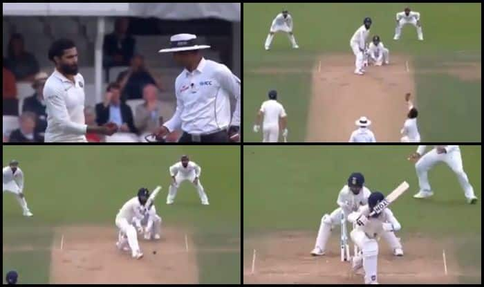 India vs England 5th Test Day 3 Kenington Oval: Ravindra Jadeja Bamboozles Moeen Ali to Get Him bowled After Virat Kohli Wastes Review on Keaton Jennings — WATCH