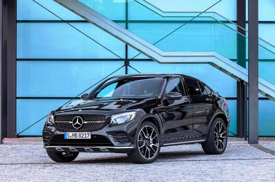 Mercedes AMG GLC43 4-MATIC Coupe launched; Price in India starts at INR 74.80 lakh