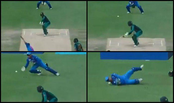 Asia Cup 2018, India vs Pakistan 5th ODI: MS Dhoni Drops Shoaib Malik of Hardik Pandya's Bowling, Will it Cost Rohit Sharma's Team India? — WATCH