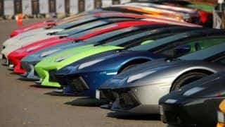 Video: Lamborghini's 50th anniversary Grand Tour is nothing short of a visual treat