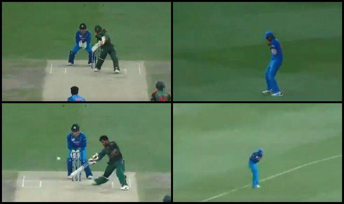 Asia Cup Finals 2018, India vs Bangladesh: Kedar Jadhav's Double Strikes of Mehidy Hasan, Mushfiqur Rahim's Wicket Jolt Bangladesh — WATCH