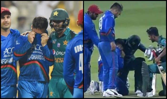 Asia Cup 2018 Super Four: Afghanistan's Aftab Crying And Pakistan's Shoaib Malik Putting His Arm Around in Support is Picture of the Day – PIC