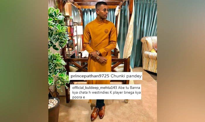 Asia Cup 2018: Hardik Pandya Again Draws Trolls, This Time on Instagram For His Traditional Ganesh Chaturthi Look — PIC