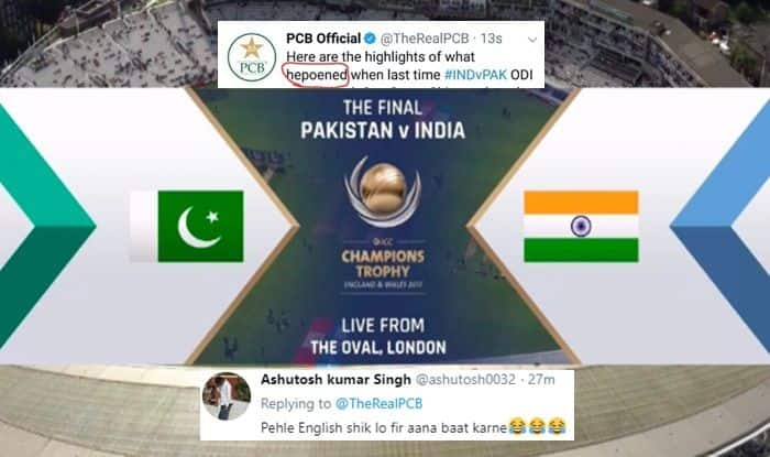 Asia Cup 2018: India vs Pakistan 5th ODI — Pakistan Tries to Troll India With 2017 Champions Trophy Video Posted by ICC, Gets Spelling Wrong, India Fans Get Back