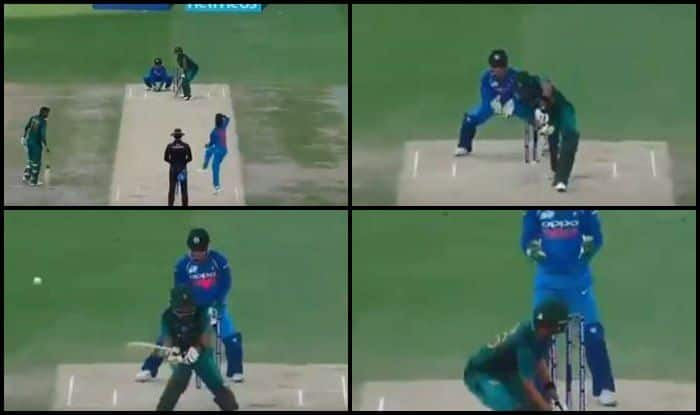 Asia Cup 2018, India vs Pakistan 5th ODI: When Kuldeep Yadav Bamboozled Babar Azam With a Wrong'un to Break Partnership With Shoaib Malik — WATCH