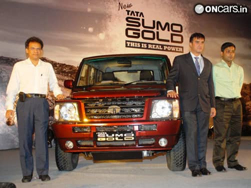 Tata Sumo Gold launched for Rs 5.23 lakh