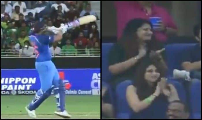 Asia Cup 2018, India vs Pakistan 5th ODI: Rohit Sharma Hits a Six, But Ritika Sajdeh's EPIC Reaction Steals The Show — WATCH