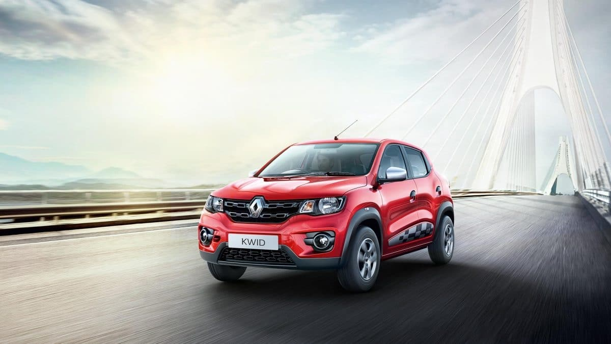 KWID takes Renault to an 88.4 percent increase in sales for the fiscal 2016-17
