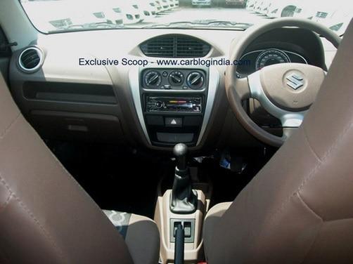 Maruti Suzuki Alto 800 interiors shown in detail | News Cars
