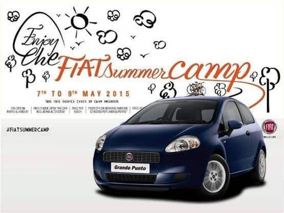 Fiat India to Organize Summer Check-Up Champ for Its Customers