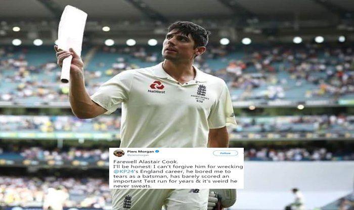 India vs England 5th Test Kennington Oval: Piers Morgan