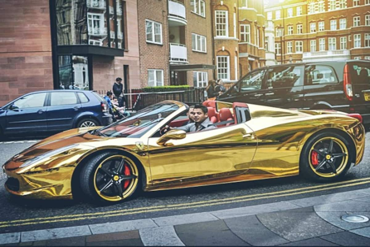 Supercars Made Of Gold Insane Yet Really Expensive India Com