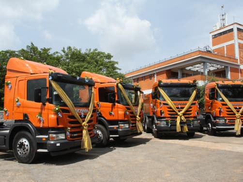 Scania trucks officially launched in India   News Cars News
