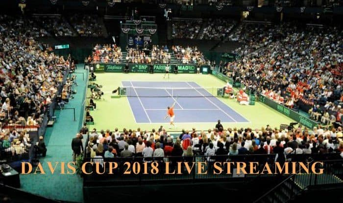 Davis Cup Live Streaming _ Picture credits - Twitter