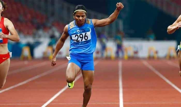 Dutee Chand, Dutee Chand Wins 100m Gold in Fifth Indian Grand Prix, Dutee Chand gold medal, Indian Grand Prix, Archana Suseentran, Dutee Chand, Gold Medal, Indian sprinter Dutee Chand, IAAF World Championship 2019, World University Games, DuteChand news, Dutee Chand partner, Dutee Chand gold medal, Dutee Chand sister, Dutee Chand record, Dutee Chand interview, Dutee Chand 100m time, Dutee Chand, Twitter, Dutee Chand twitter, Dutee Chand sprinter, Ministry of External Affairs, MEA, Dutee Chand gold medal, Dutee Chand national record