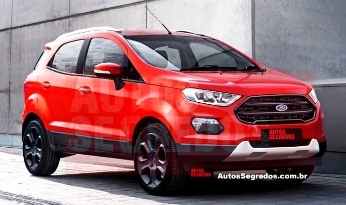 Ford Ecosport 2017 World Premier Confirmed For November 14 India Com