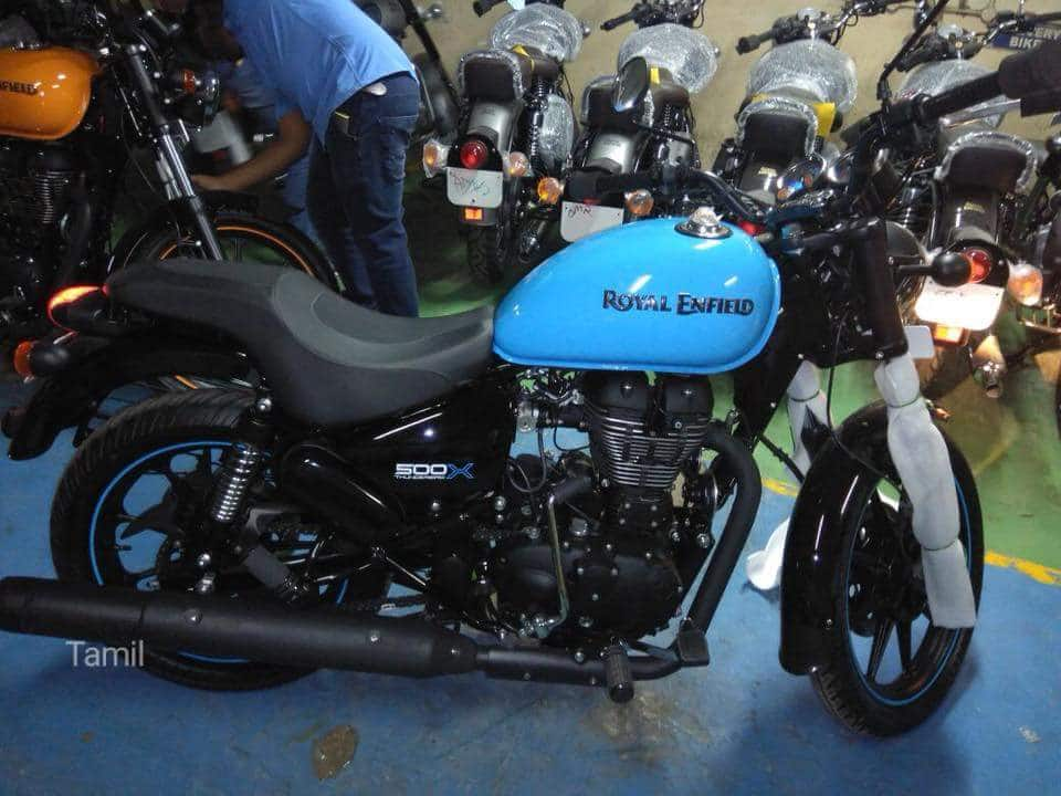 Royal Enfield Thunderbird 500X Spied Ahead of India Launch