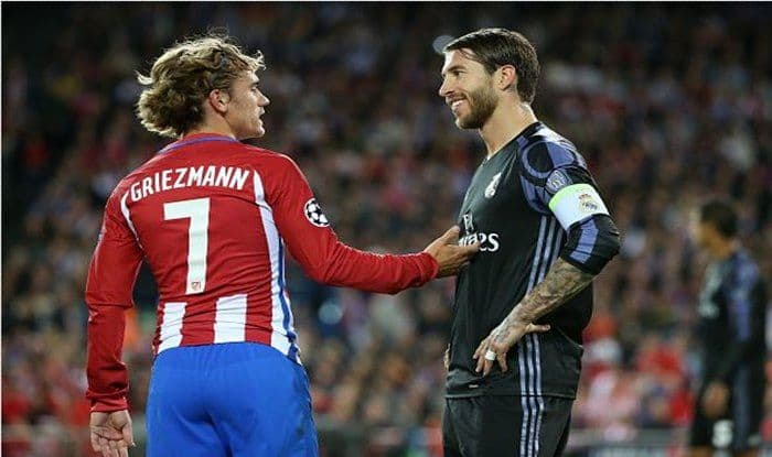 Griezmann and Sergio Ramos_picture credits-Getty