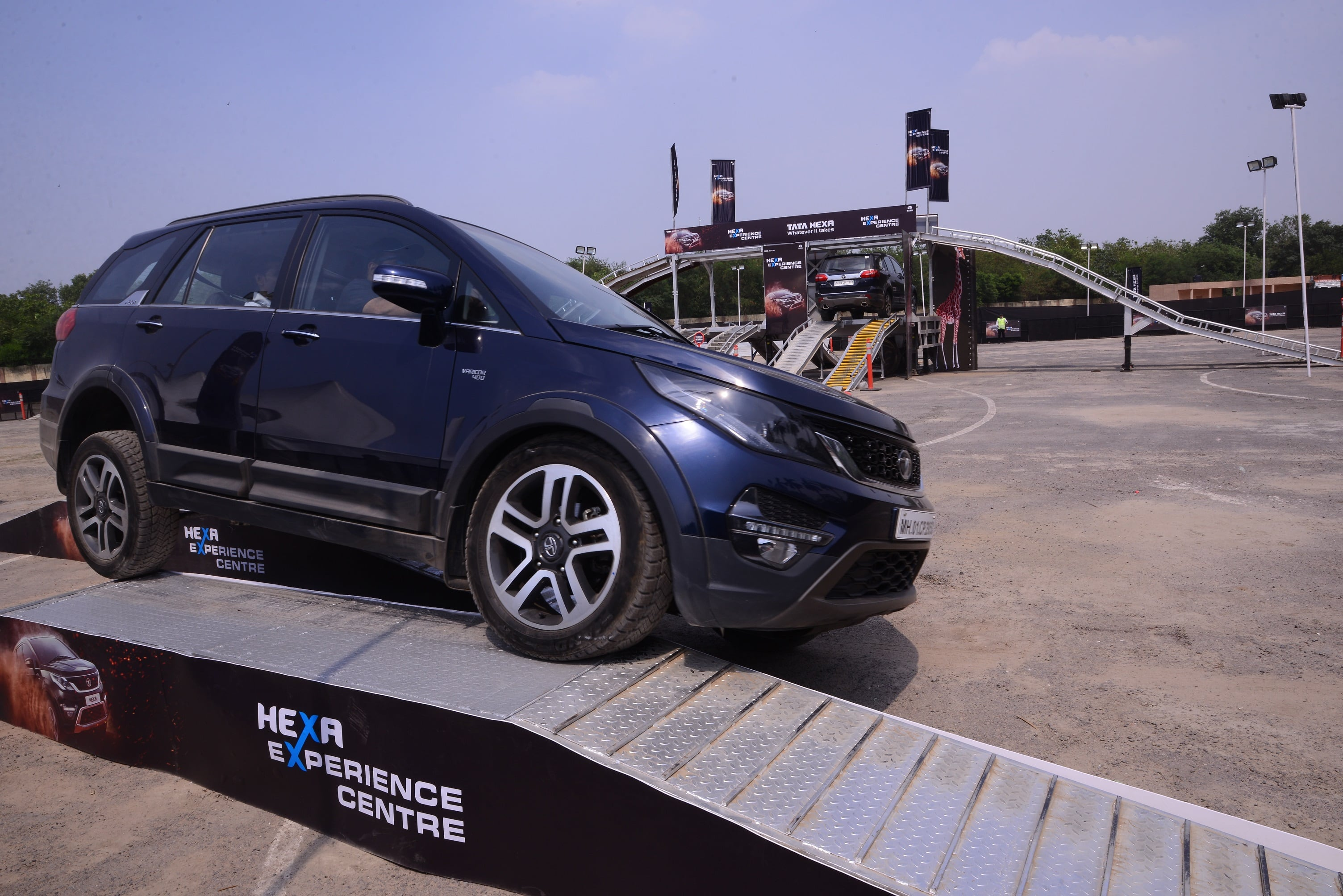 Tata concludes the Phase 2 of Hexa off-road experience zone in Delhi