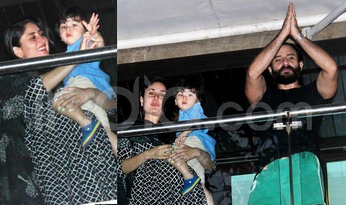 Kareena Kapoor Khan And Saif Ali Khan Pose With Baby Taimur in Their Latest Birthday Special Pictures