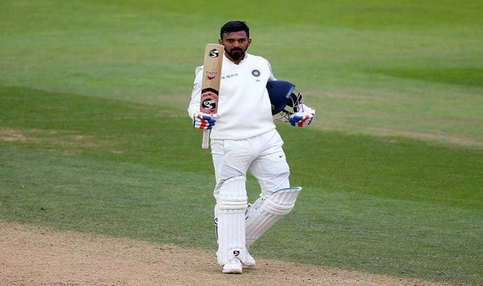 Kl Rahul celebrates hundred against England at Oval_ICC Twitter