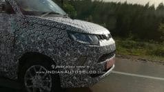 Mahindra KUV100 facelift to get smaller headlamps, restyled bumper & new alloy wheels