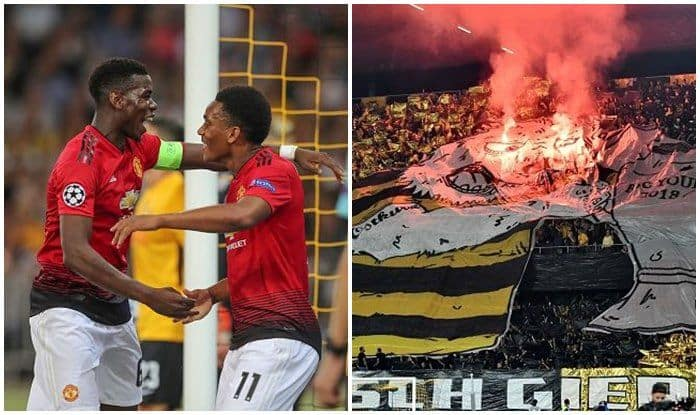 Manchester united vs Young Boys-Getty