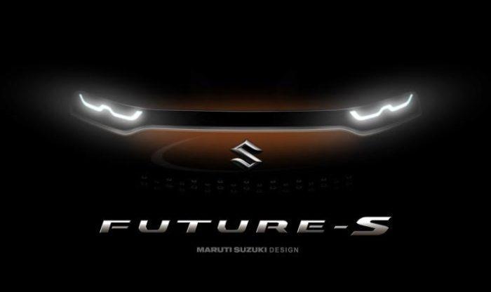 Maruti Concept Future S Front Design Teased Ahead of Auto Expo 2018