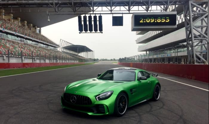 Mercedes-AMG GT R Becomes the Fastest Production Car; Sets Record Breaking Lap Time at Buddh International Circuit