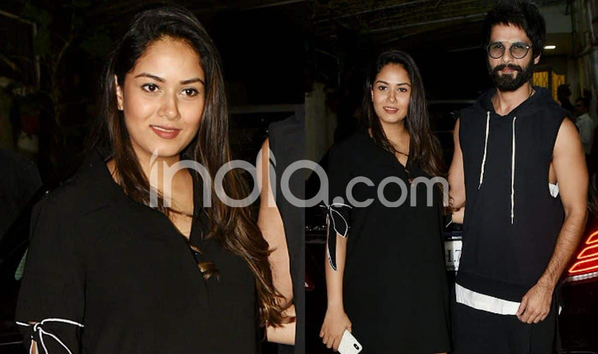 Mira Rajput's Post Pregnancy Glow is Unmissable in Her Latest Pics With Shahid Kapoor From Batti Gul Meter Chalu Screening