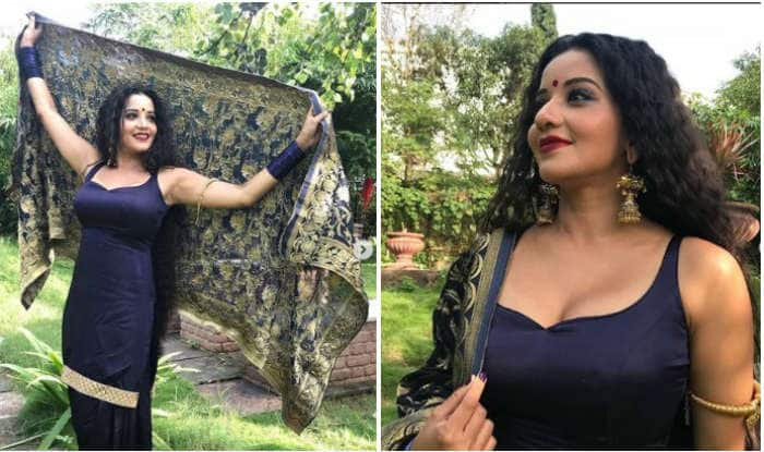 Bhojpuri Hot Bomb And Nazar Fame Monalisa Looks Super Sexy as She Strikes a Pose in Her Daayan Avatar – See Pictures