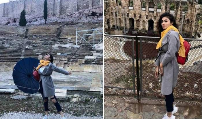 Naagin Fame Mouni Roy Raises The Hotness Quotient as She Visits Acropolis of Athens With Her Girl Gang – See Pictures
