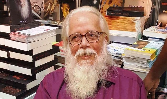 Former space scientist Nambi Narayanan