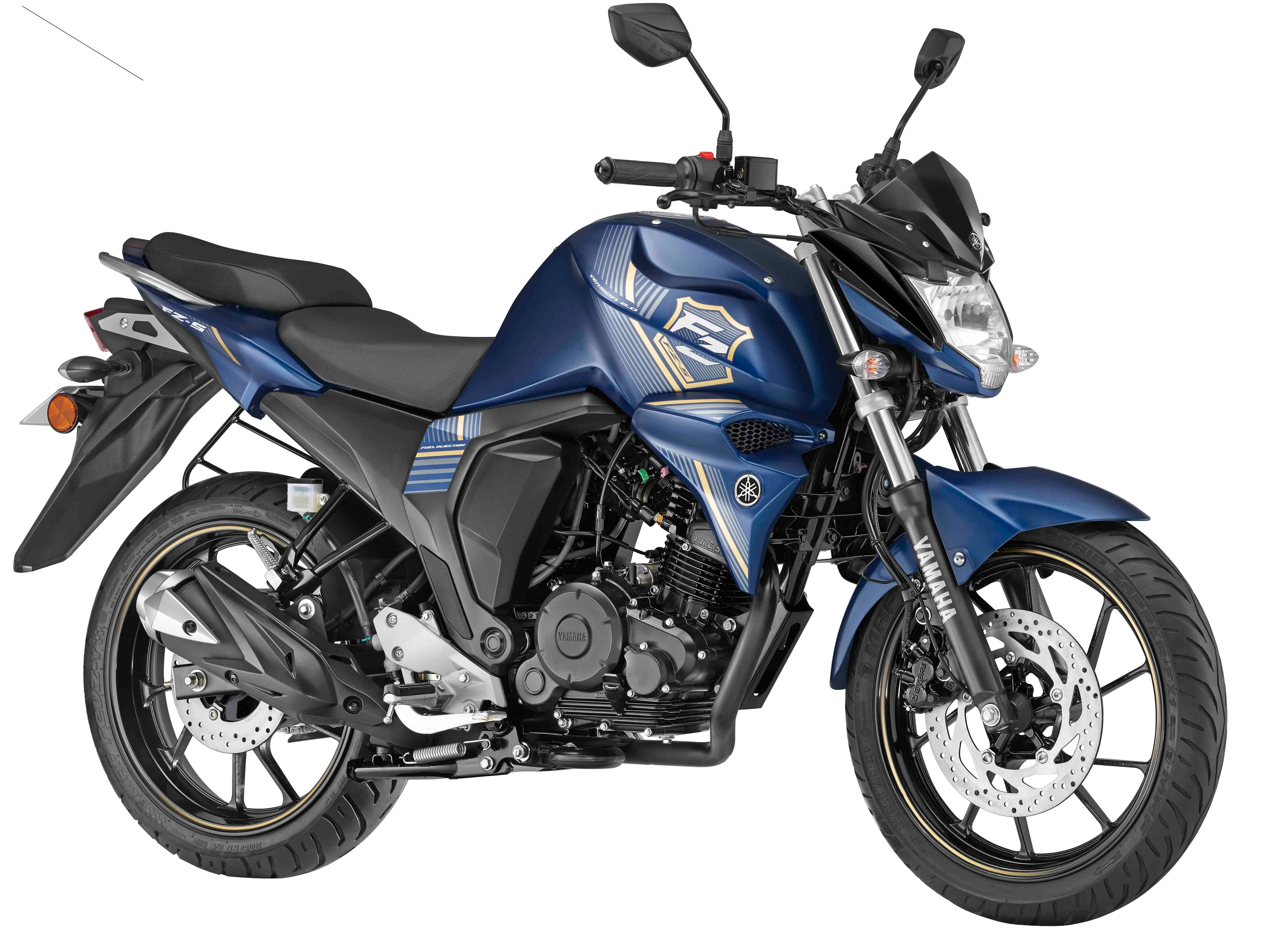 New Yamaha FZS FI with Rear Disc Brake Launched