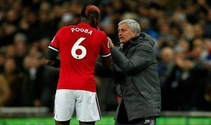 Paul Pogba-mourinho _pic credits-twitter