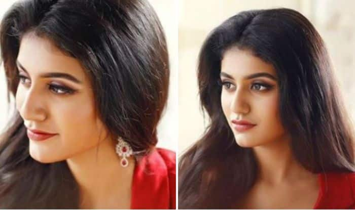 Priya Prakash Varrier, The Internet Wink Queen, Looks Red Hot in Latest Photoshoot – View Pic