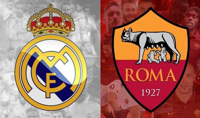 Real Madrid vs AS Roma-picture credits_Twitter